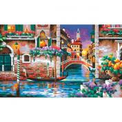 Paint Works Paint By Number Kit 50cm x 30cm -Isn't It Romantic