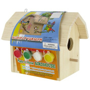 Paint-a-House Birdhouse with PaintNew by
