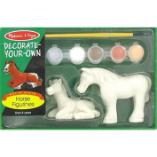 Paint Your Own Horse FigurinesNew by