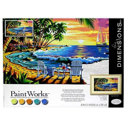 Sunset Beach Paint by Number KitNew by