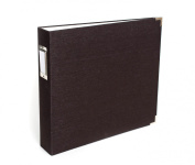 We R Memory Keepers 660881 Linen Albums 5 Page Protectors, 30cm x 30cm , Black