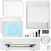 Silhouette Curio Digital Crafting Machine with 22cm x 15cm Tray with Pen Holder