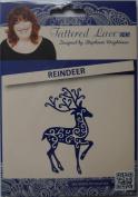 Tattered Lace Die ~ Reindeer, 5.6cm x 9.4cm ~ TTLD116