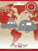 Find It Trading Car with Camper Amy Design Map Die