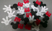 Die Cuts - Disney Mickey Mouse Hand, Heads & Pants Set - 30piece