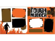 """Tough Mudder Run"" Scrapbook Kit"
