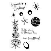 MSE My Sentiments Exactly Clear Stamps 10cm x 15cm Sheet Rockin' Around Christmas