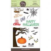 Joy Clair Clear Stamps 10cm x 15cm Happy Halloween