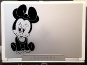Baby Mickey mouse cute Walt Disney cartoon character car truck laptop macbook vinyl decal sticker 15cm black