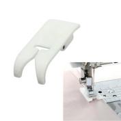 Sewing Machine Plastic Teflon Presser Foot Ultra Zigzag Snap On Foot