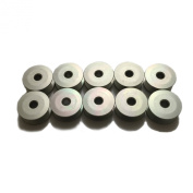 10 Large Capacity Aluminium M Bobbins for Consew / Juki Industrial Machines