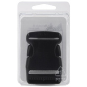 Side Release Buckle 2.5cm - 1.3cm -Black 1 pcs sku# 650698MA