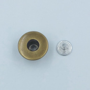 "25 Sets 0.67"" 17mm Look Inside Fine Jean Tack Snap Button Stud Rivet NO-SEW"