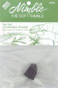 Leather Nimble Thimble With Metal Tip-Small 1 pcs sku# 644019MA