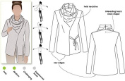 Style Arc Sewing Pattern - Elita Designer Top (Sizes 04-16) - Click for Other Sizes Available