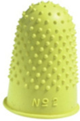 Q-Connect Thimblettes Size2 Yellow (Per Pack