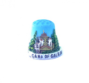 "Thimble Souvenir From Israel & Palestine Sewing Holyland Thimbles Collection ""Cana of Galilee"""