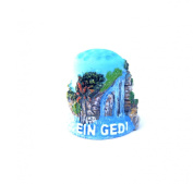 "Thimble Souvenir From Israel & Palestine Sewing Holyland Thimbles Collection ""Ein Gedi"""
