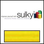 Sulky Of America 60wt Solid Polylite Thread, 1650 yd, Mimosa Yellow