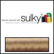 Sulky Of America 60wt Solid Polylite Thread, 1650 yd, Dark Ecru