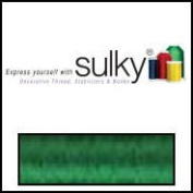 Sulky Of America 60wt Solid Polylite Thread, 1650 yd, Christmas Green