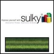 Sulky Of America 60wt Solid Polylite Thread, 1650 yd, Medium/Dark Avocado