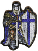 Blue Knight Small Patch