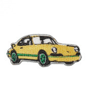 911 Porsche Carrera Embroidered Sports Car Applique