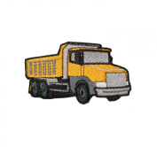 Dump Truck Construction Equipment Embroidered Patch