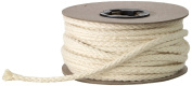 Pearl Draw Cord, 0.6cm Cotton, 25 yd, Natural