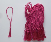 100 Rosetta Coloured Bookmark Tassels