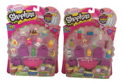 Shopkins Season 2 - Two 12 Packs - 2 Different Sets of Visible Shopkins