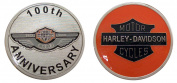 Harley Davidson 100th Anniversary Challenge Collectible Coin Logo Metal Lucky Poker Chips & Gift