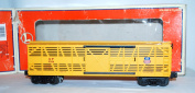 Lionel 6-16790 Union Pacific Stock car w/ COW Railsounds UP carsounds MOOO 3356