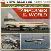 Classic ViewMaster - Aeroplanes of the World - ViewMaster Reels 3D - Unsold store stock - never opened
