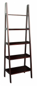 Casual Home 5 Shelf Ladder Bookcase, Espresso