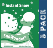 SnoWonder Instant Artificial Snow - Bonus Projects eBook - Home Decor - Party Packs - Classroom Science Projects