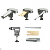 Bench Anvil Combo Kit - Bracelet and Ring Mandrels, Anvil, V Slot Bench Pin - SFC Tools - 13-132