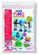 STAEDTLER FIMO CLAY WAX SOAP FOOD ICE PUSH MOULD FUNNY ANIMALS by Idena