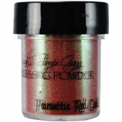 Lindy's Stamp Gang 2-Tone Embossing Powder, 15ml Jar, Poinsettia Red Gold
