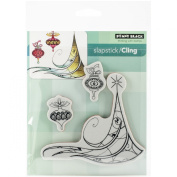 Penny Black Decorative Rubber Stamps, Deco Tree