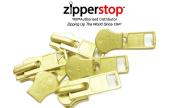 ZipperStop Distributor YKK® -Zipper Repair Kit Solution YKK® #10 Extra Heavy Weight Pull Sliders Metal Made in USA - 3pcs
