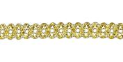 Belagio Enterprises 1.9cm Metallic Braid Trim 25 Yards, Gold