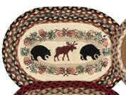 Bear & Moose Braided Jute Placemat