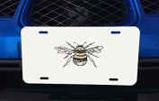 Awesome Bumblebee Print Art Aluminium Licence Plate for Car Truck Vehicles