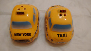 City of New York Salt and Pepper Yellow Taxi Cars