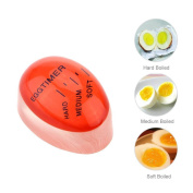 Dealglad® Magic Practical Kitchen Colour Changing Egg Timer Cook Boiled Eggs Thermometer