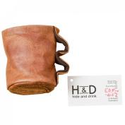 Leather Beverage Cooler Handmade by Hide & Drink