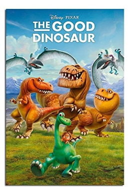 The Good Dinosaur Characters Poster Gloss Laminated - 91.5 x 61cms (36 x 24 Inches)