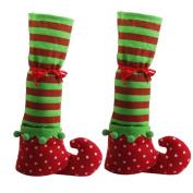1 Pair of Christmas Furniture Leg Socks Covers Floor Protectors